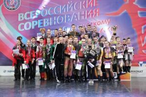 Петербургская юниорская команда по акробатическому рок-н-роллу выиграла Всероссийские соревнования