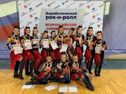 Петербургские спортсмены среди сильнейших на Всероссийских соревнованиях по акробатическому рок-н-роллу