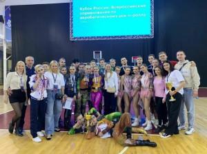 Петербуржцы стали победителями и призерами Кубка России по акробатическому рок-н-роллу